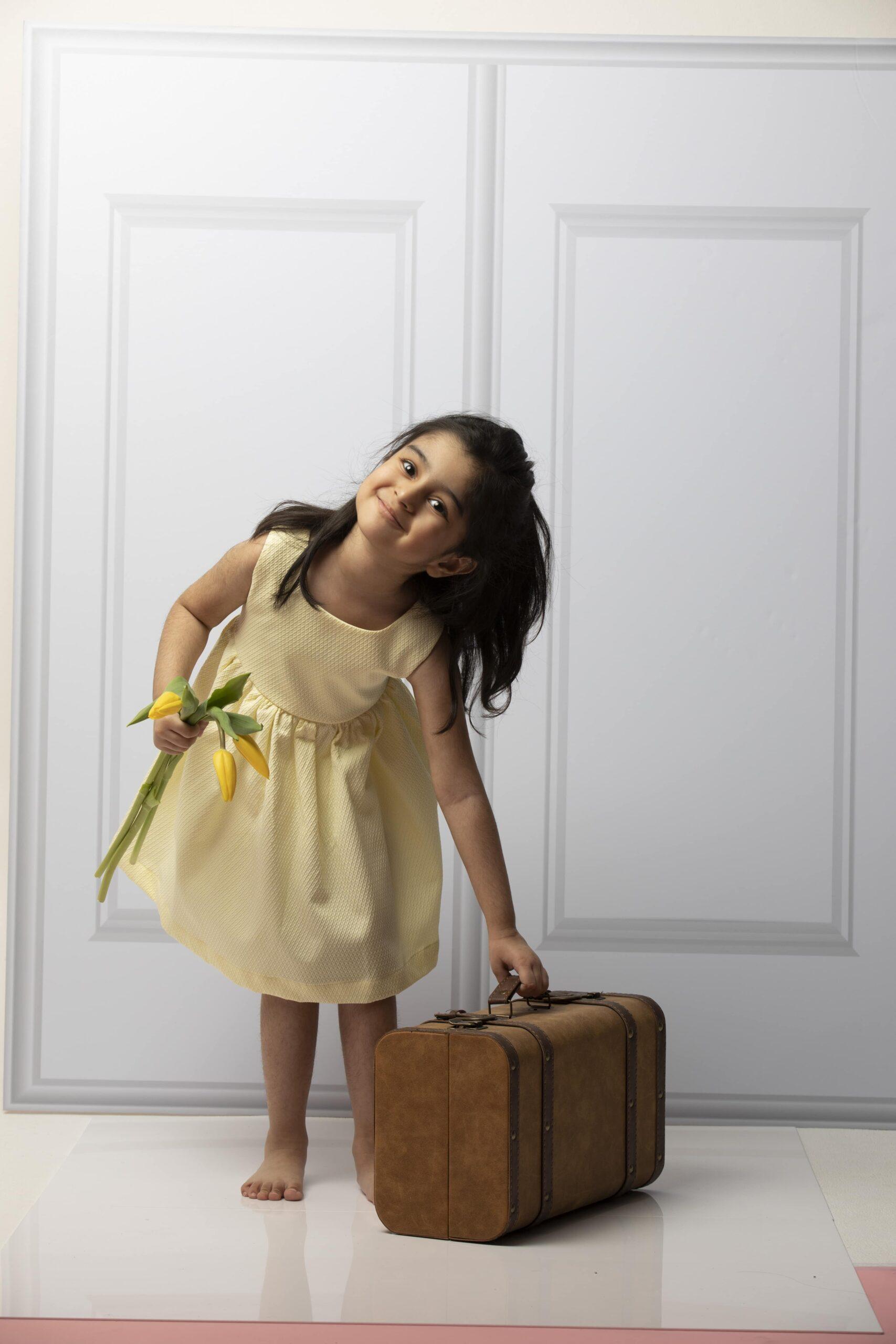 Bella Dress Yellow JulesandJuliette